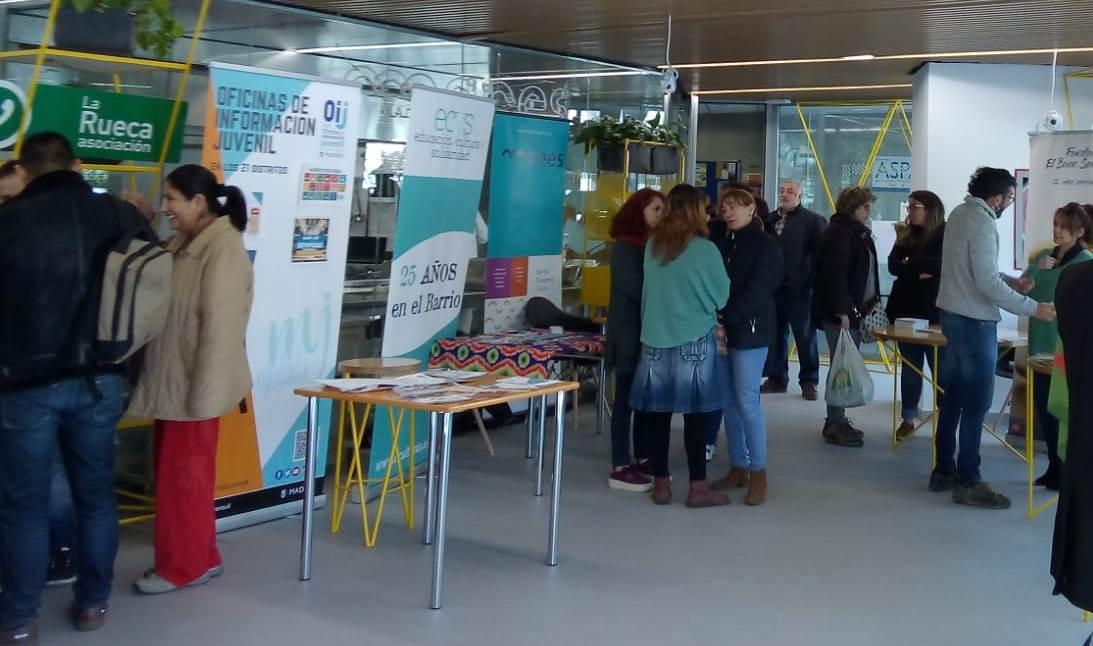 Jornada de puertas abiertas en el Centro para el Empleo y la Economía Social de Villaverde