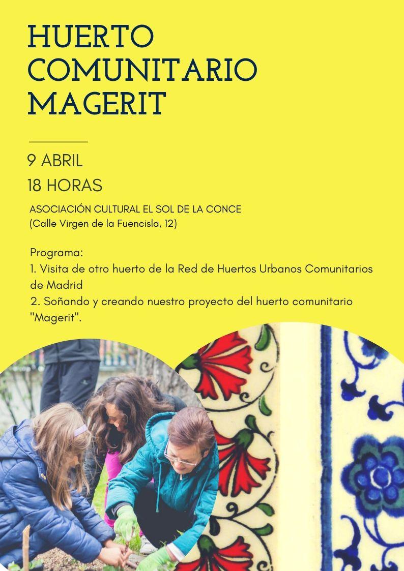 El huerto comunitario «Magerit» comienza a ser una realidad