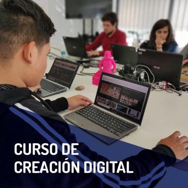 ¡Nuevo Curso de Creación Digital!