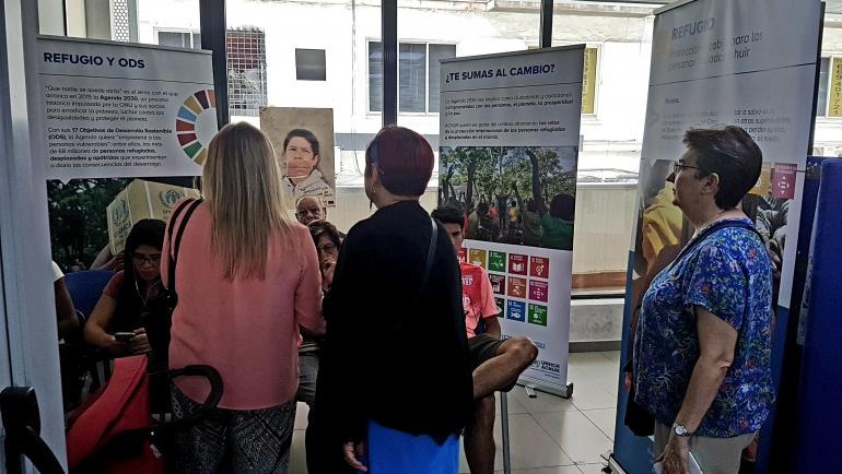 La comisión de Inmigración de Tetuán se reúne con motivo del Día de Personas Refugiadas