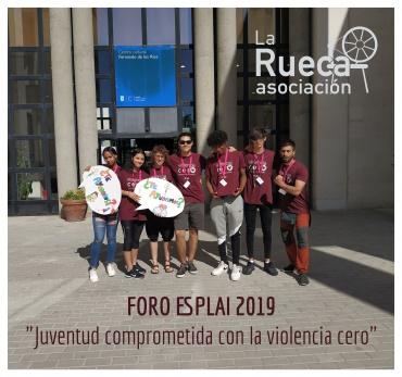 Jóvenes de la Rueca participan en el Foro Esplai