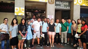 Visita al Mercado Municipal de Maravillas