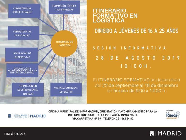 ITINERARIO DE FORMACIÓN EN LOGÍSTICA