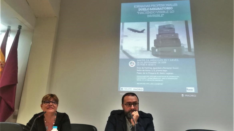 Exitosa participación en las Jornadas Profesionales sobre el Duelo Migratorio