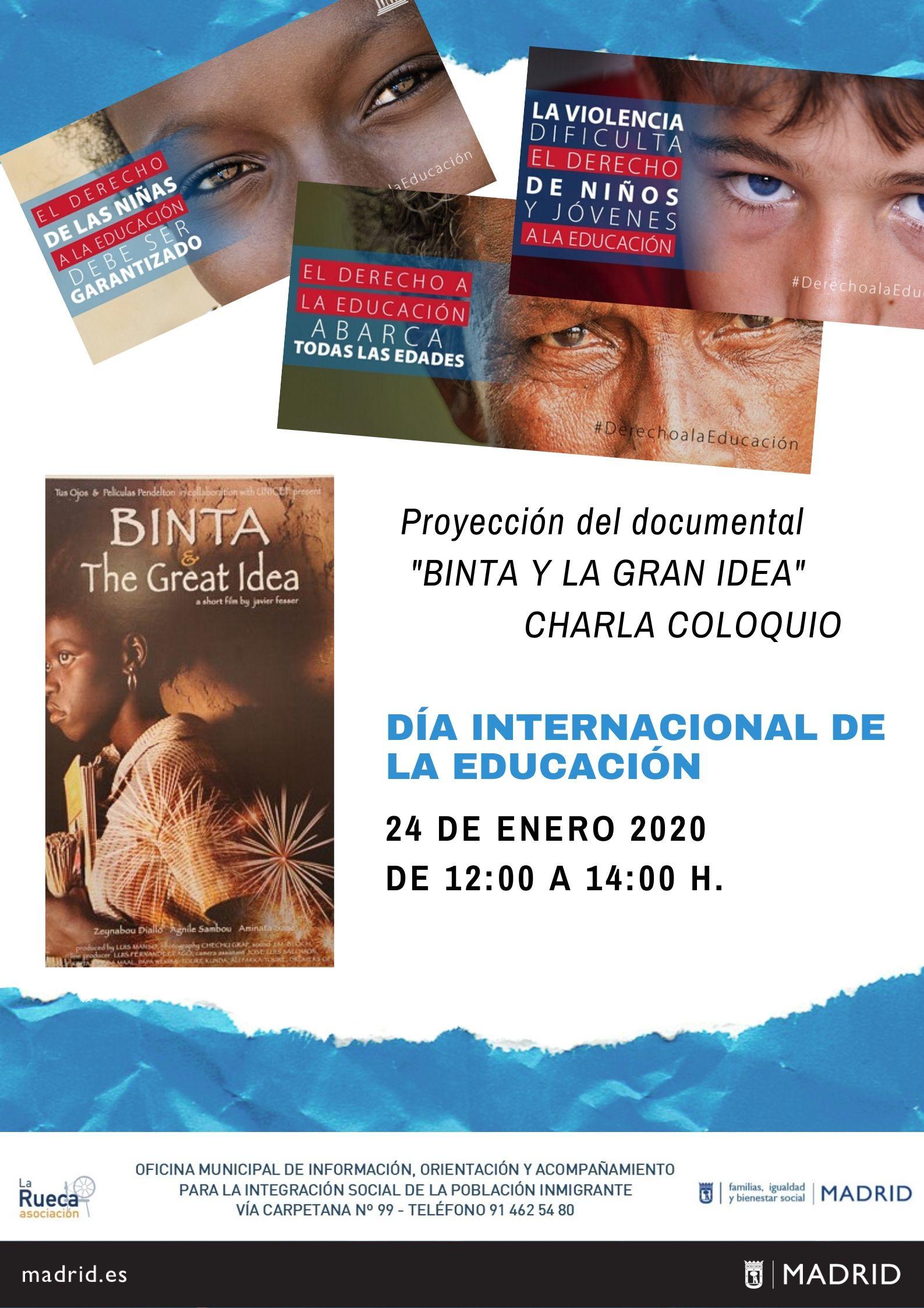 24 DE ENERO, DIA INTERNACIONAL DE LA EDUCACIÓN