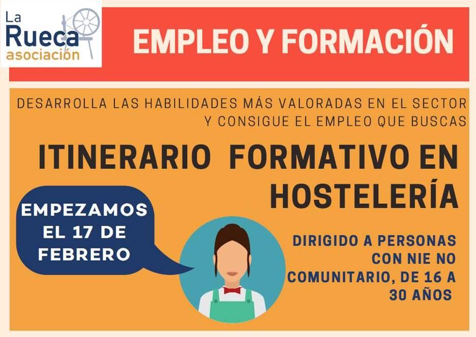 Itinerario formativo de hostelería en Villaverde