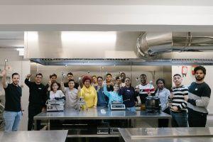 Itinerarios sociolaboral de Ayudante de cocina