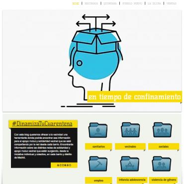 Guía web de recursos y otras acciones comunitarias en Ciudad Lineal