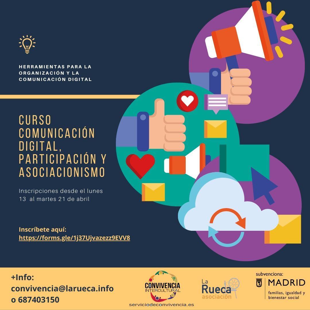 Nueva Formación Online en Comunicación Digital, Participación y Asociacionismo