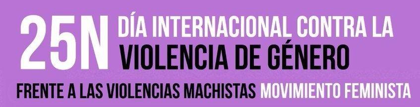 Día Internacional de la Eliminación de la Violencia contra la Mujeres