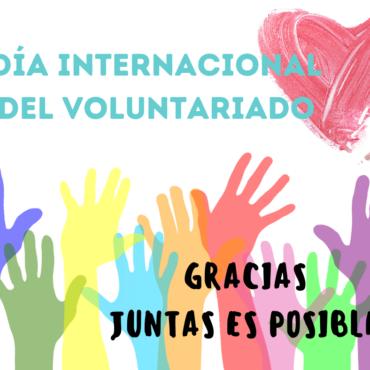 Gracias al voluntariado que hace posible nuestra labor
