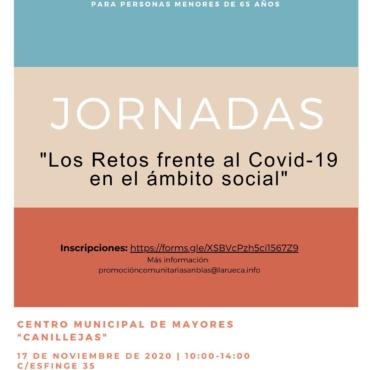 """Jornadas """"Los Retos frente al COVID-19 en el ámbito social"""" San Blas-Canillejas"""