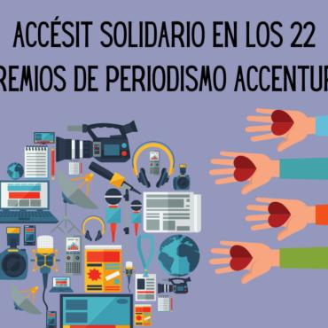 La Rueca Asociación, seleccionada como uno de los Accésit Solidarios