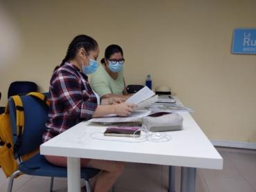 Acompañamiento y formación en sector sociosanitario
