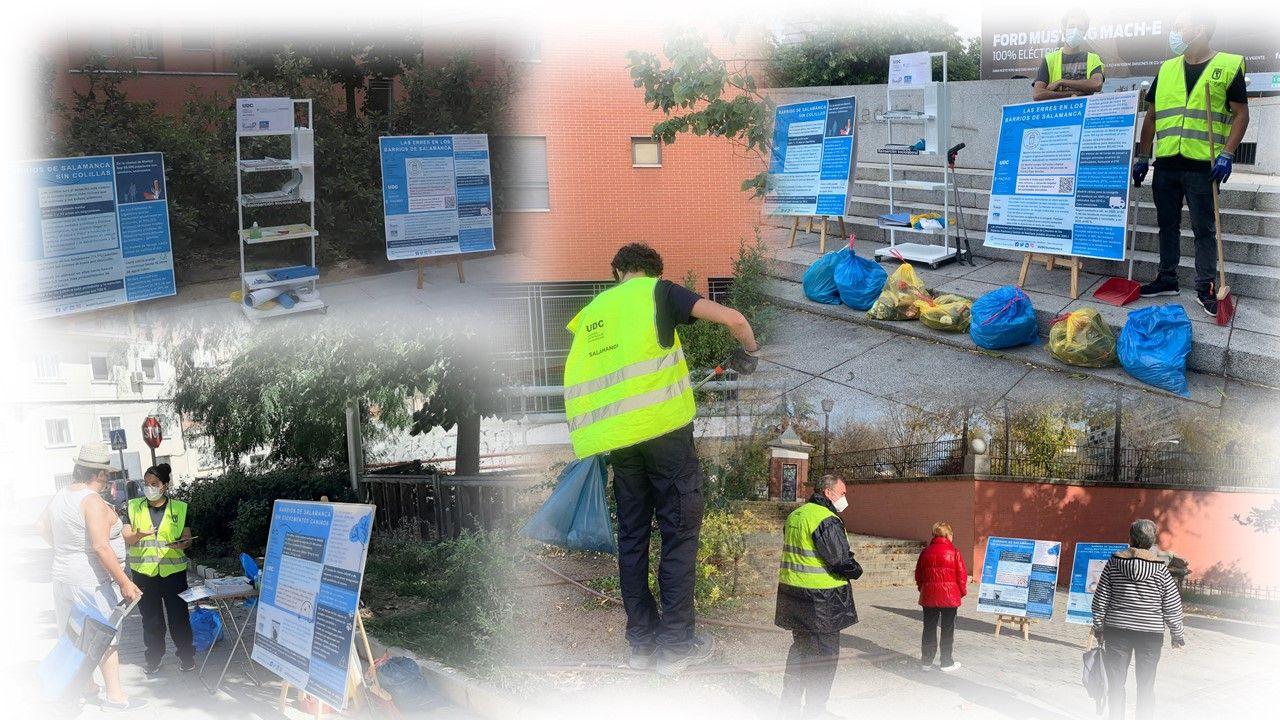 Promoción de cuidados en el entorno urbano del distrito de Salamanca