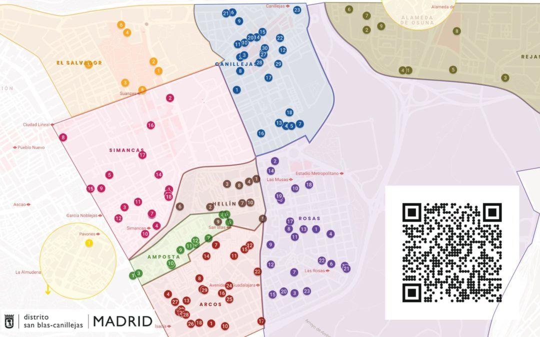 Mapa de Recursos del Distrito San Blas-Canillejas